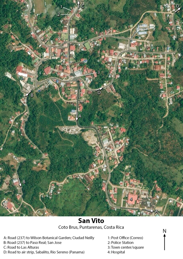 San Vito satellite photo