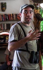Pablo Elizonda, Director of Costa Rican Bird Observatories. Photo by Gail Hull